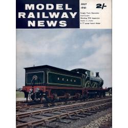 Model Railway News 1961 July