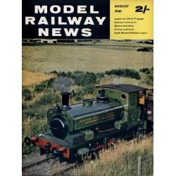 Model Railway News 1961 August