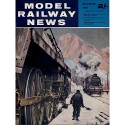 Model Railway News 1961 December