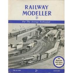 Railway Modeller 1959 January