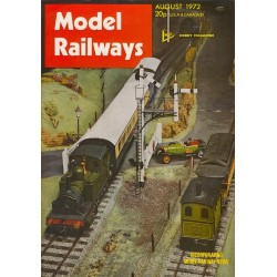 Model Railways 1972 August
