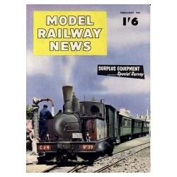 Model Railway News 1959 February