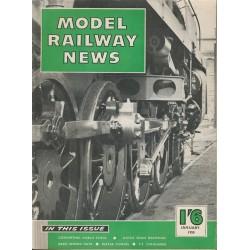 Model Railway News 1958 January