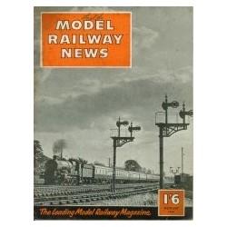 Model Railway News 1957 August