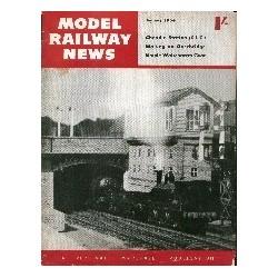 Model Railway News 1954 January