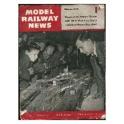 Model Railway News 1954 February