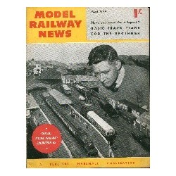 Model Railway News 1954 April