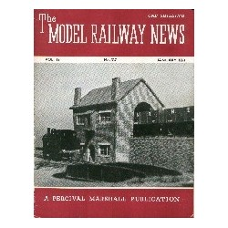 Model Railway News 1953 January