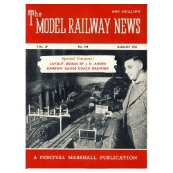 Model Railway News 1953 August