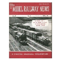 Model Railway News 1953 April