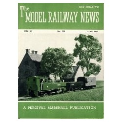 Model Railway News 1952 June