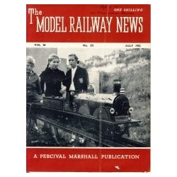 Model Railway News 1952 July