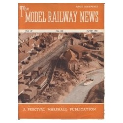 Model Railway News 1951 June