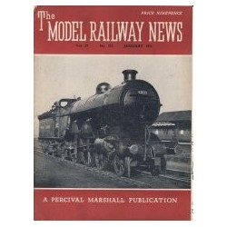 Model Railway News 1951 January
