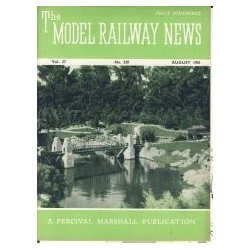 Model Railway News 1951 August