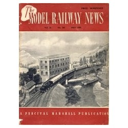 Model Railway News 1950 May