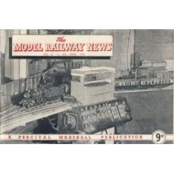 Model Railway News 1949 April