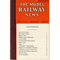 Model Railway News 1947 January