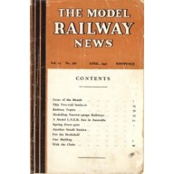 Model Railway News 1947 12 month set