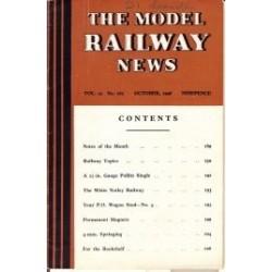 Model Railway News 1946 October