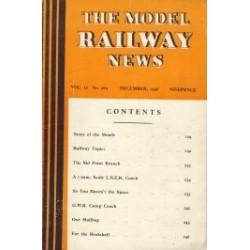 Model Railway News 1946 December