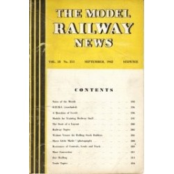 Model Railway News 1942 September