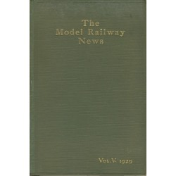 Model Railway News 1929 Bound Volume