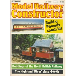 Model Railway Constructor 1986 July