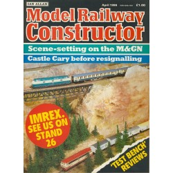 Model Railway Constructor 1986 April
