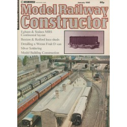 Model Railway Constructor 1982 January