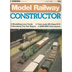 Model Railway Constructor 1980 April