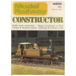 Model Railway Constructor 1979 February