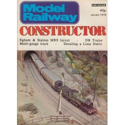 Model Railway Constructor 1978 January