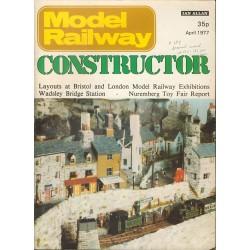 Model Railway Constructor 1977 April