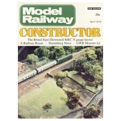 Model Railway Constructor 1975 April