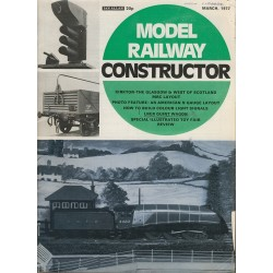 Model Railway Constructor 1972 March