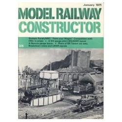 Model Railway Constructor 1971 January