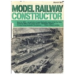 Model Railway Constructor 1970 March