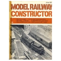 Model Railway Constructor 1970 June