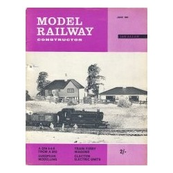 Model Railway Constructor 1963 June