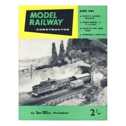 Model Railway Constructor 1962 June