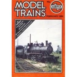 Model Trains 1980 February