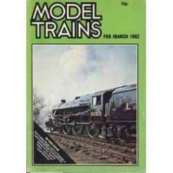 Model Trains 1982 February/March