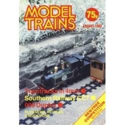 Model Trains 1983 August