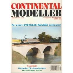 Continental Modeller 1994 August