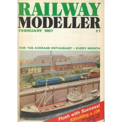 Railway Modeller 1987 February