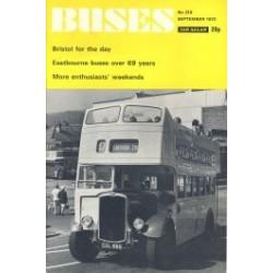 Buses 1972 September