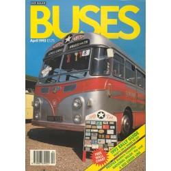 Buses 1992 April