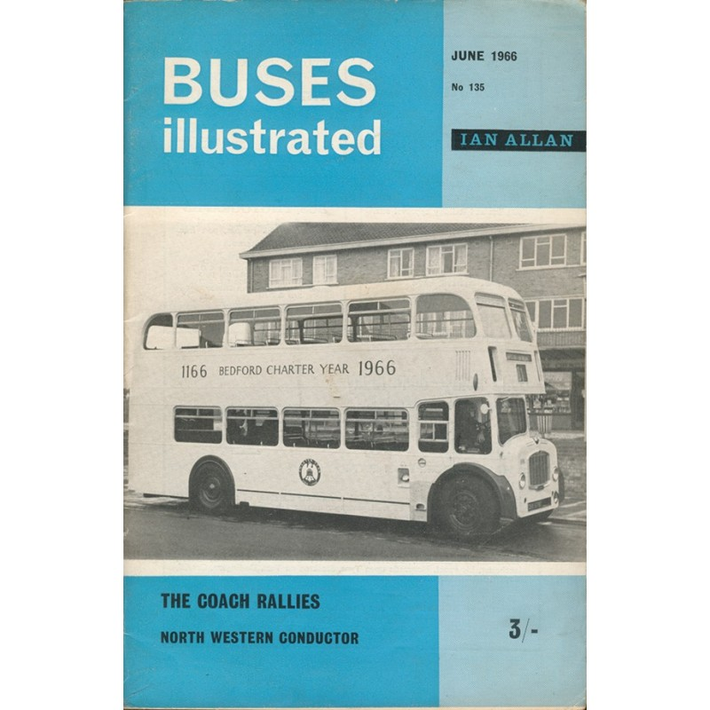 Buses Illustrated 1966 June