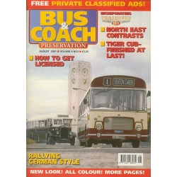 Bus and Coach Preservation 2001 August